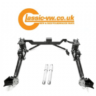Mk1 Golf Caddy Rear 4 Link Frame With Air Bags + Dampers (From 1987)
